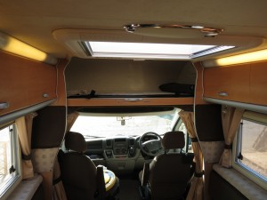 over bed cab in autosleeper nuevo