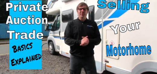 Selling My Motorhome